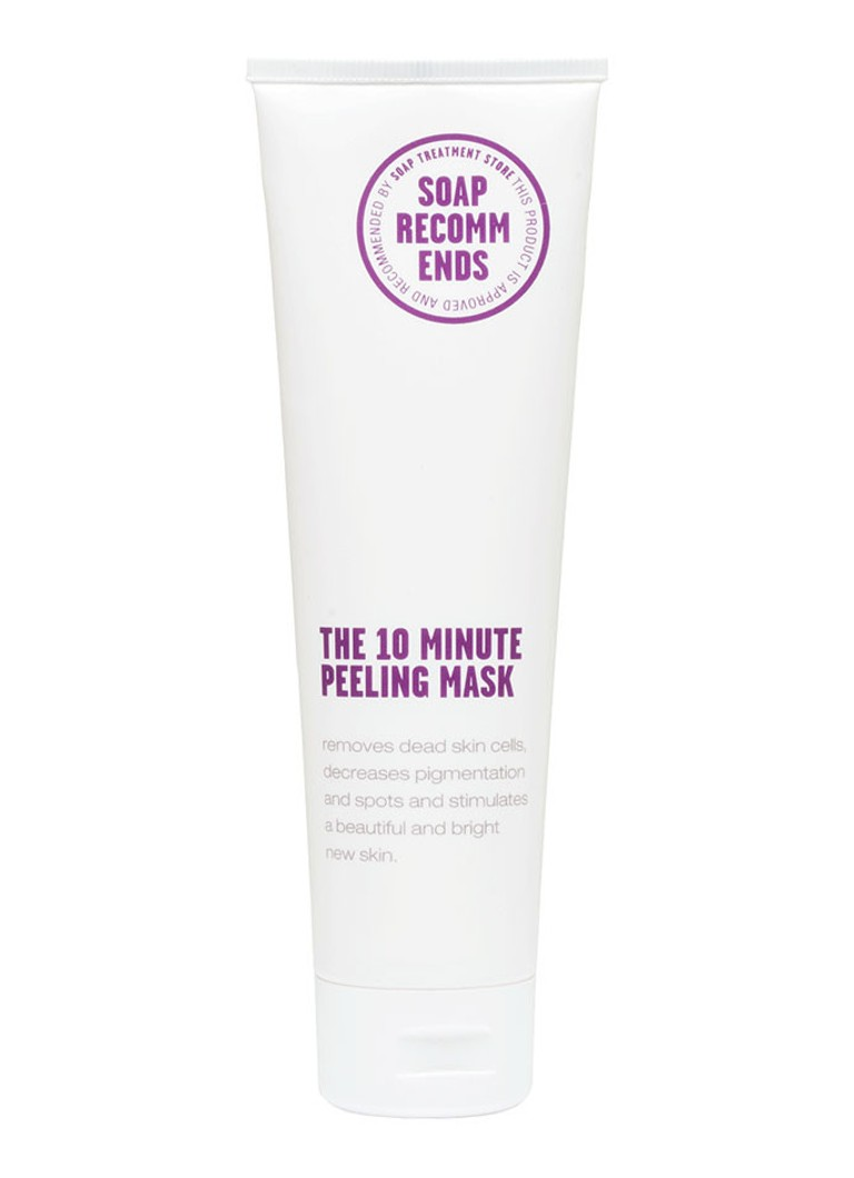 SOAP RECOMMENDS The 10 Minute Peeling Mask - masker