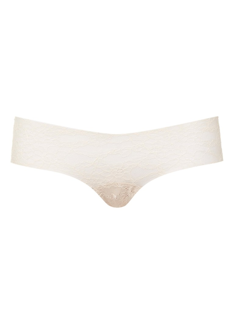 Sloggi Beige hipster invisible light lace 2.0