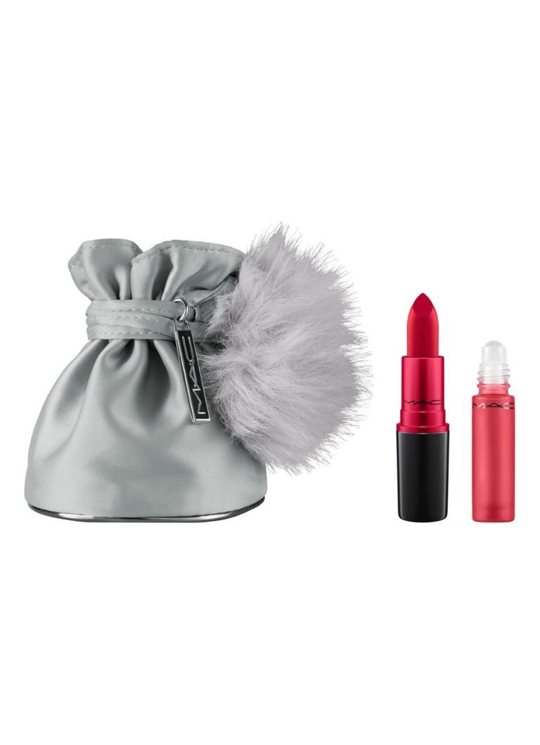 GeurenMake up M·A·C Snow Ball Holiday 2017   Ruby Woo Shadescents Kit   geurset