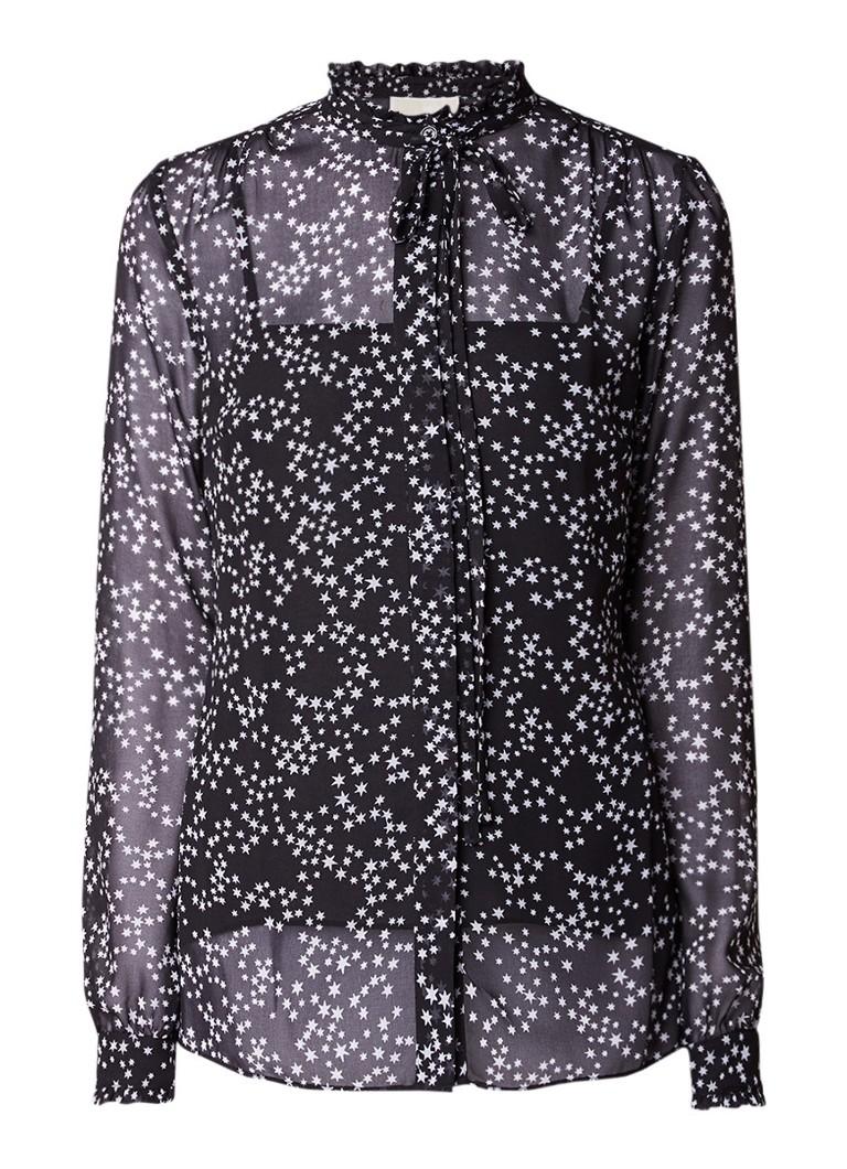 Michael Kors Shooting Star blouse met sterrenprint