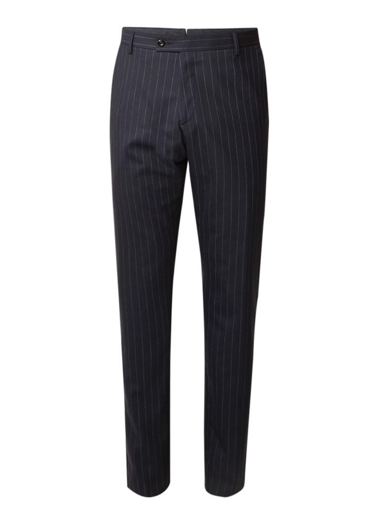 Reiss Wonder slim fit pantalon van wol met krijtstreep