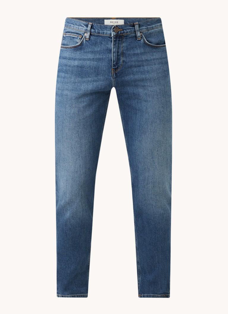 Reiss Arg slim fit jeans met stretch