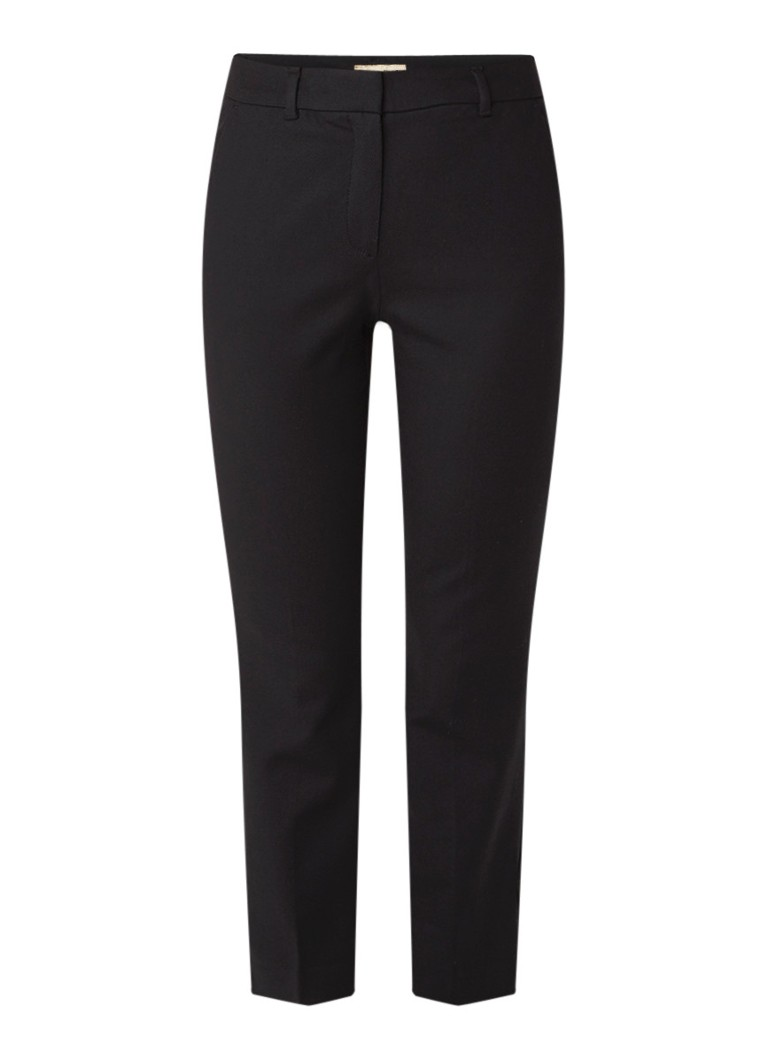 Phase Eight Lucy slim fit cropped pantalon met steekzakken