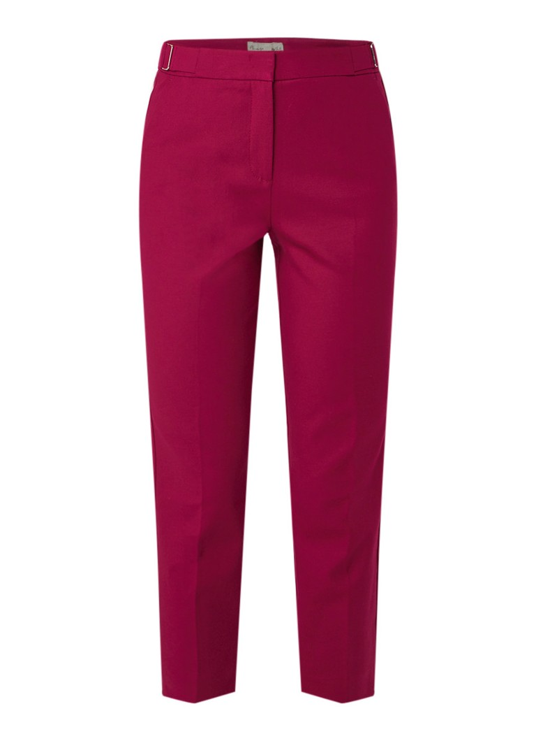 Phase Eight Lucy-Lo slim fit cropped pantalon met steekzakken