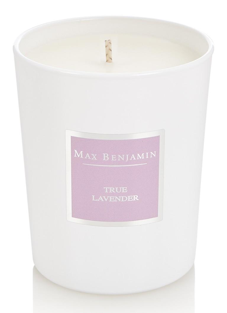 Max Benjamin True Lavender geurkaars