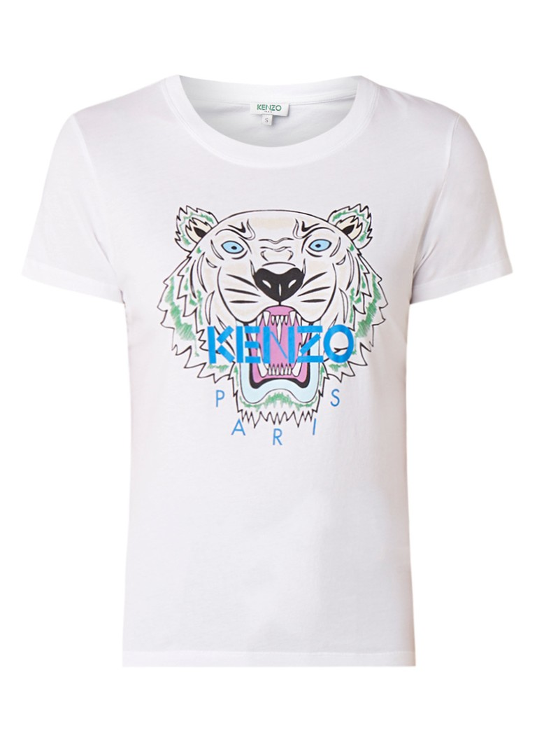 KENZO Icon Tiger T-shirt met tijgerprint