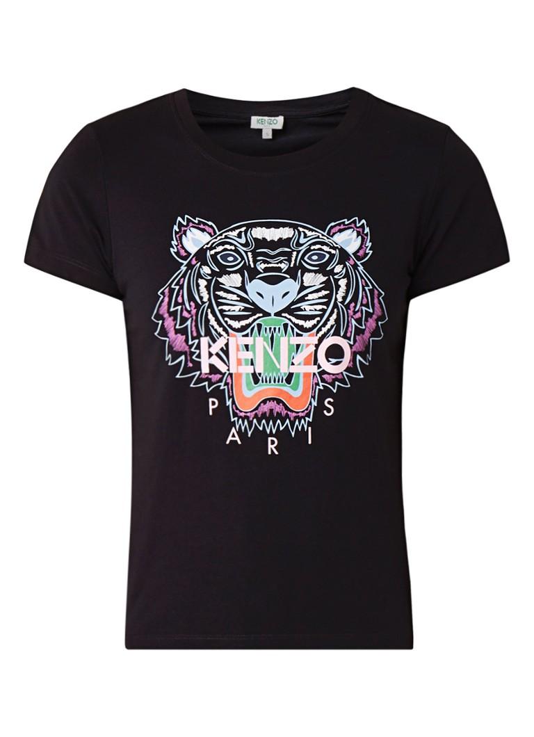 KENZO Icon Tiger T-shirt met logoprint