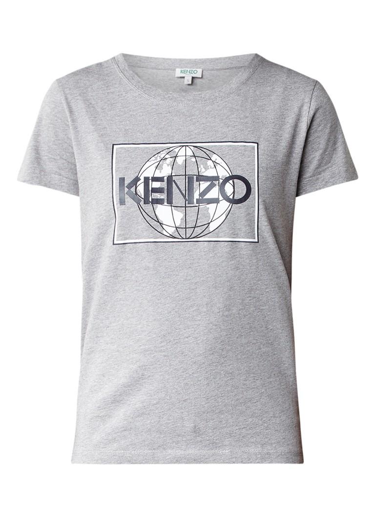 KENZO Globe T-shirt met logo