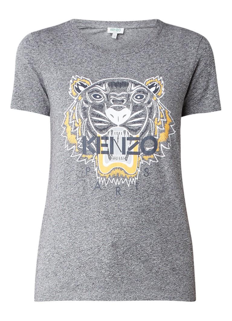 KENZO Tiger T-shirt met logoprint