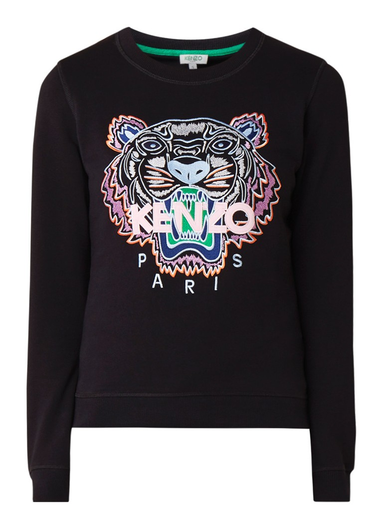 KENZO Icon Tiger sweater met borduring