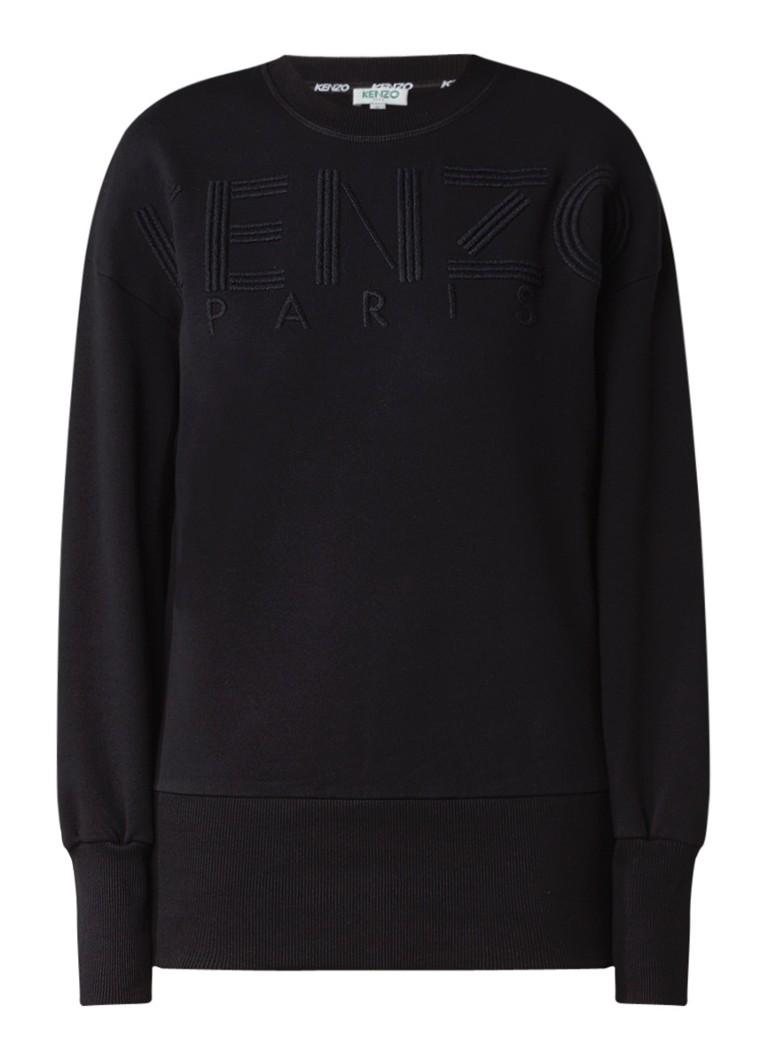 KENZO Paris sweater met logoborduring