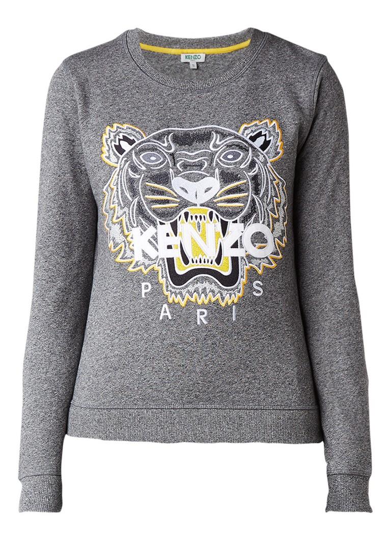 KENZO Tiger sweater met borduursel