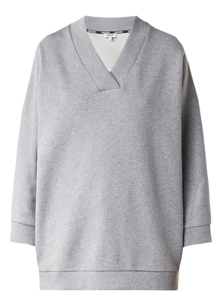 KENZO Sweater met logo opdruk aan de achterzijde