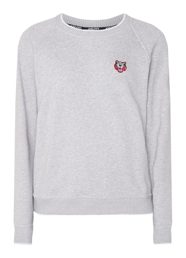 KENZO Tiger sweater met merkembleem