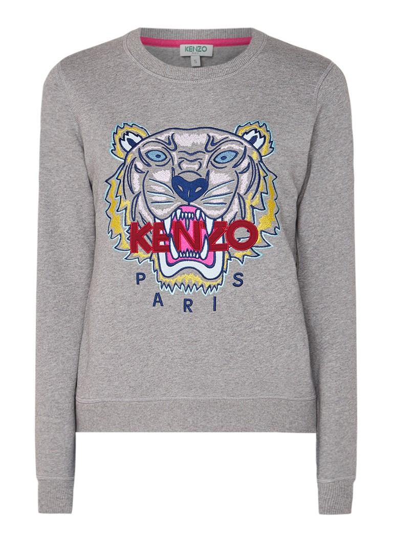 KENZO Icon Tiger sweater met merkborduring
