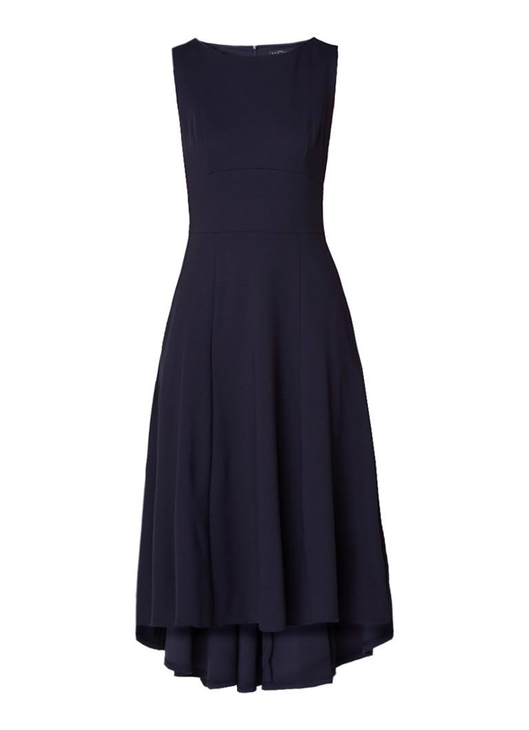 LaDress Nicole mouwloze maxi A-lijn jurk donkerblauw