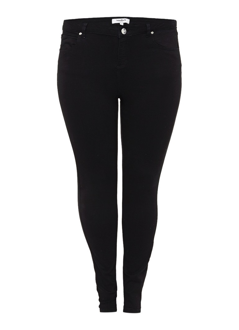 Studio 8 Maddy high rise skinny jeans met donkere wassing