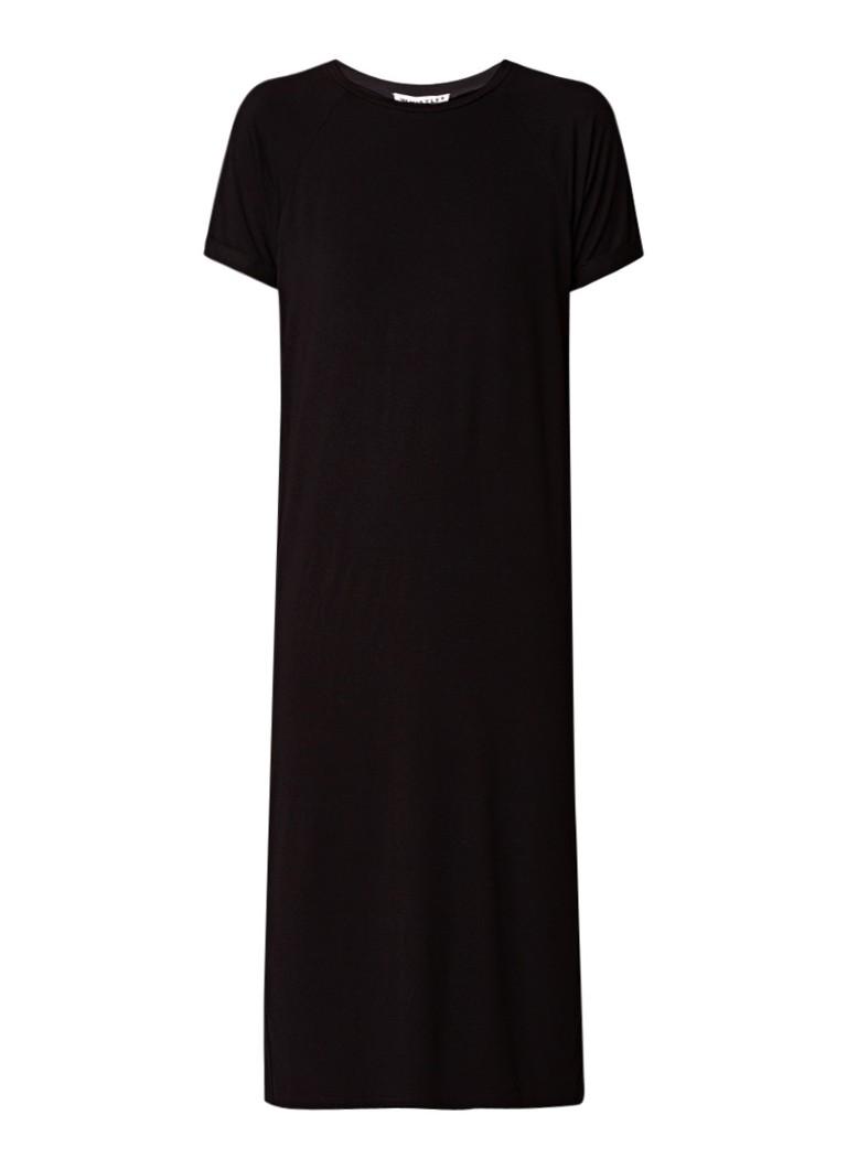 Whistles Midi-jurk van jersey zwart