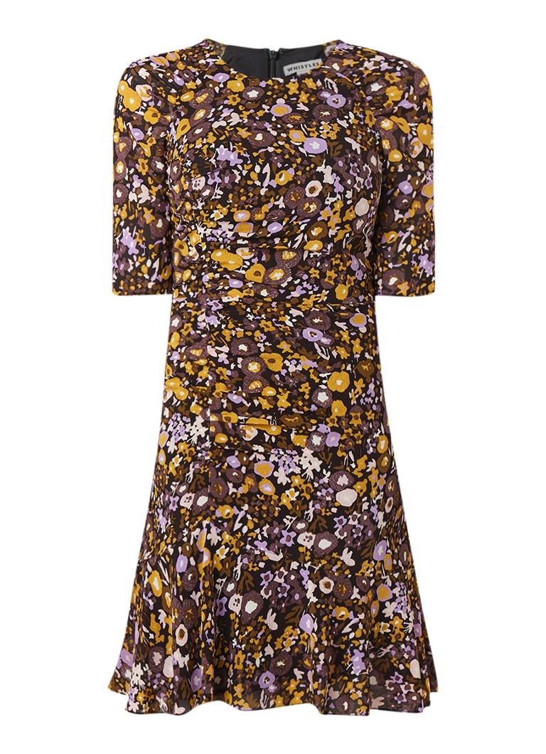 Whistles Billy Adelaide tuniekjurk van zijde met bloemendessin multicolor