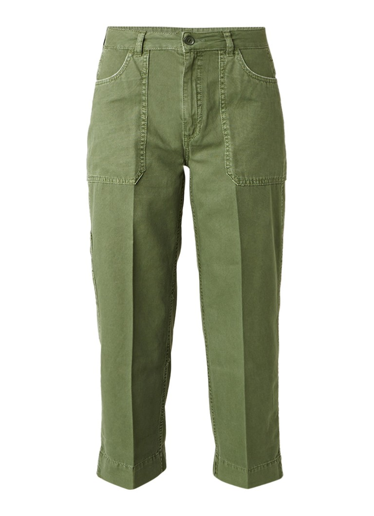 Whistles Cropped wide fit cargo