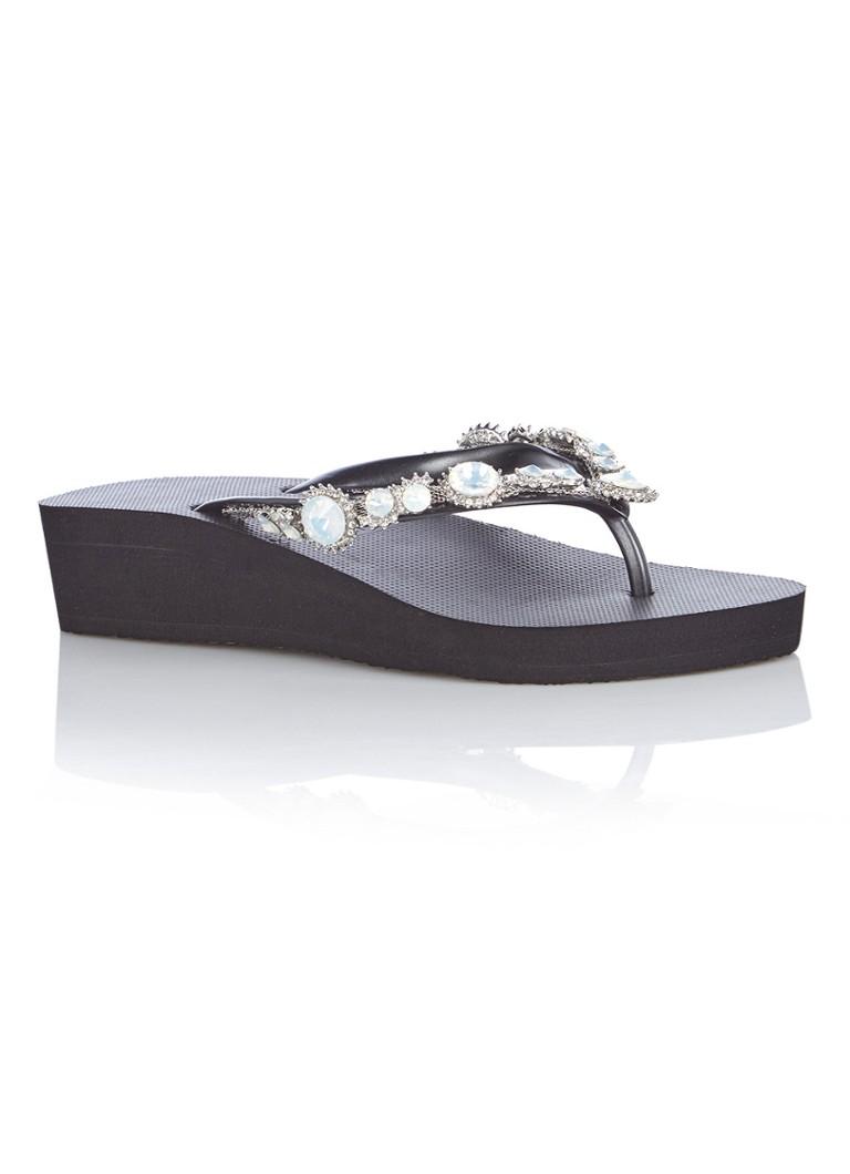 Uzurii Pearl Marilyn Mid Heel slipper