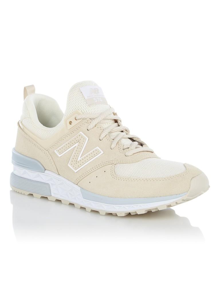 New Balance 574 sneaker van suède