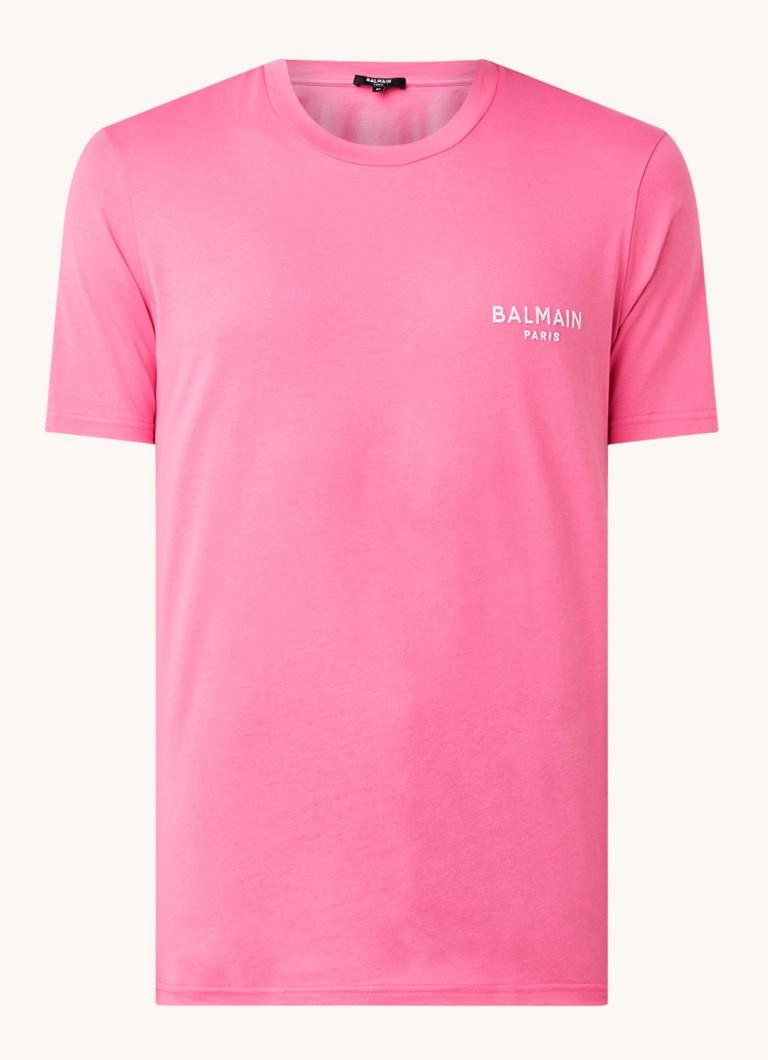 Balmain T-shirt met logoborduring