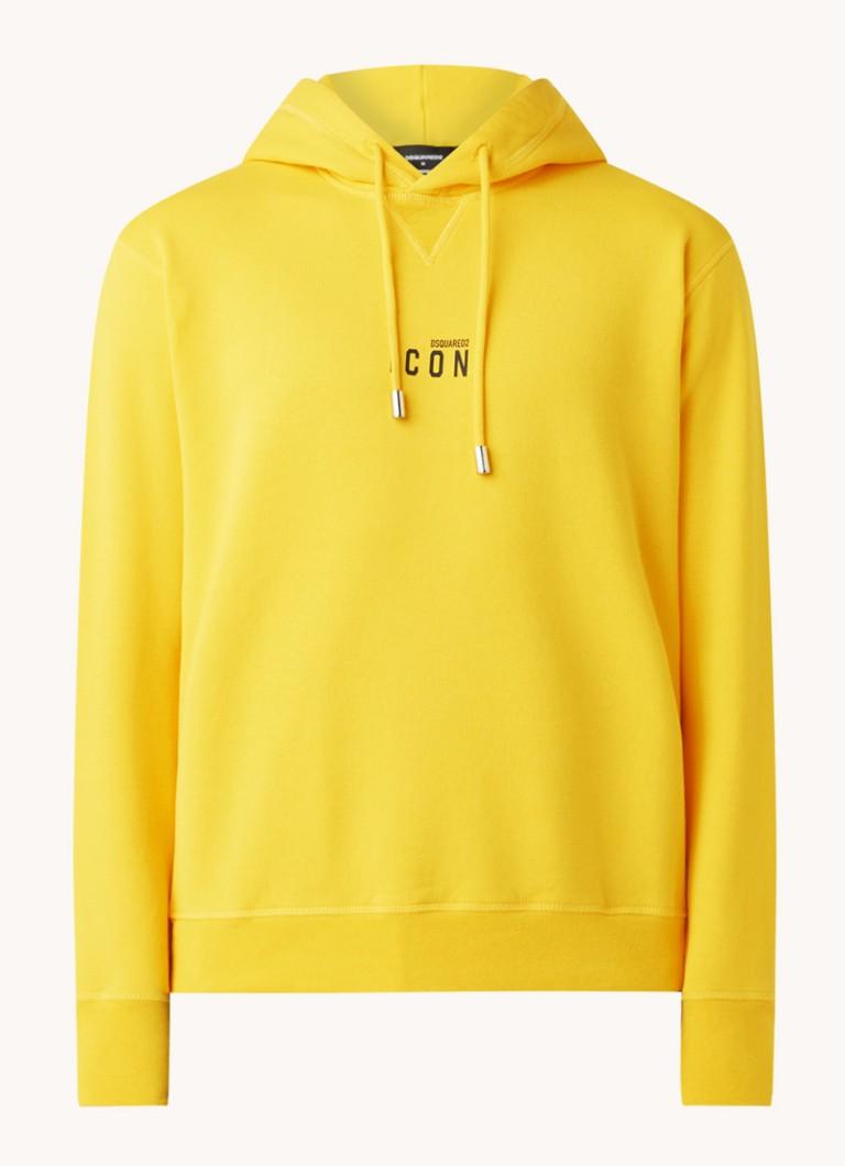 Dsquared Icon hoodie met logoprint