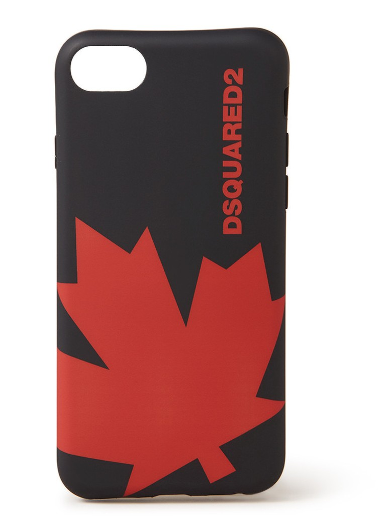 Image of Dsquared2 Maple Leaf telefoonhoesje voor iPhone X