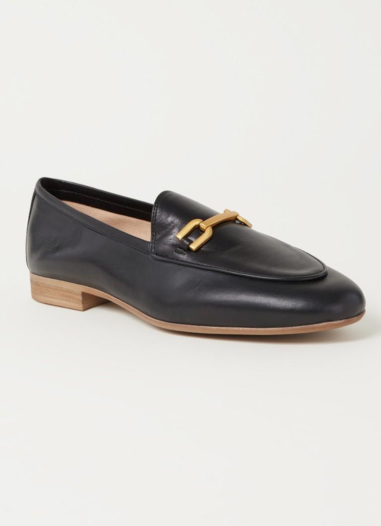 Unisa Dalcy loafer van leer online kopen