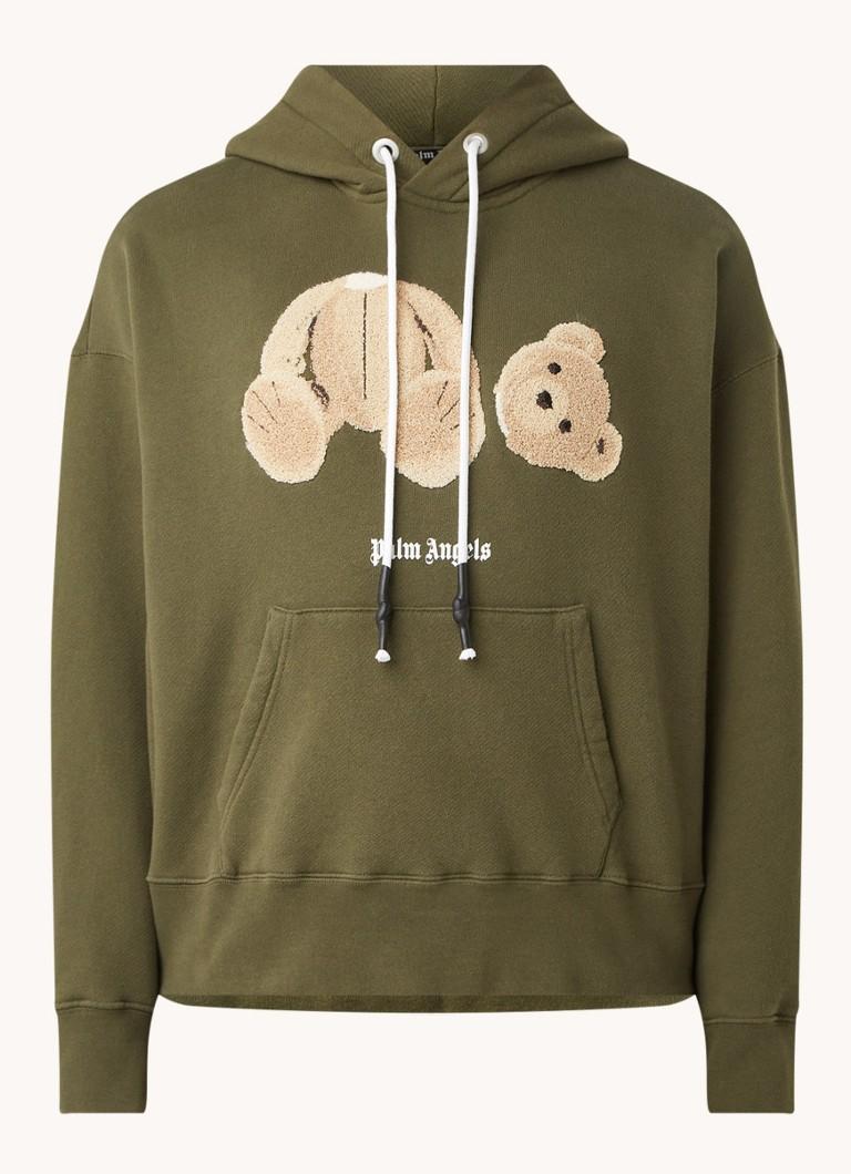Palm Angels Bear hoodie met borduring