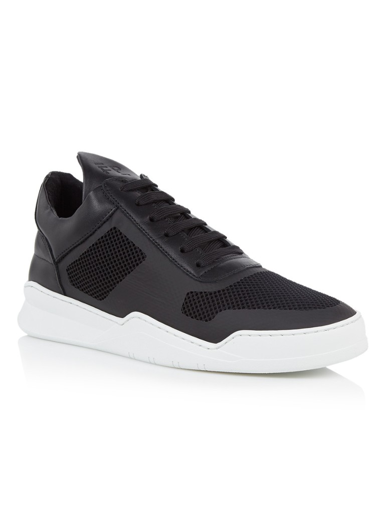 Filling Pieces Low Top Ghost herensneaker zwart