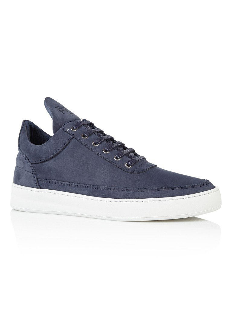 Filling Pieces Low Top herensneaker blauw