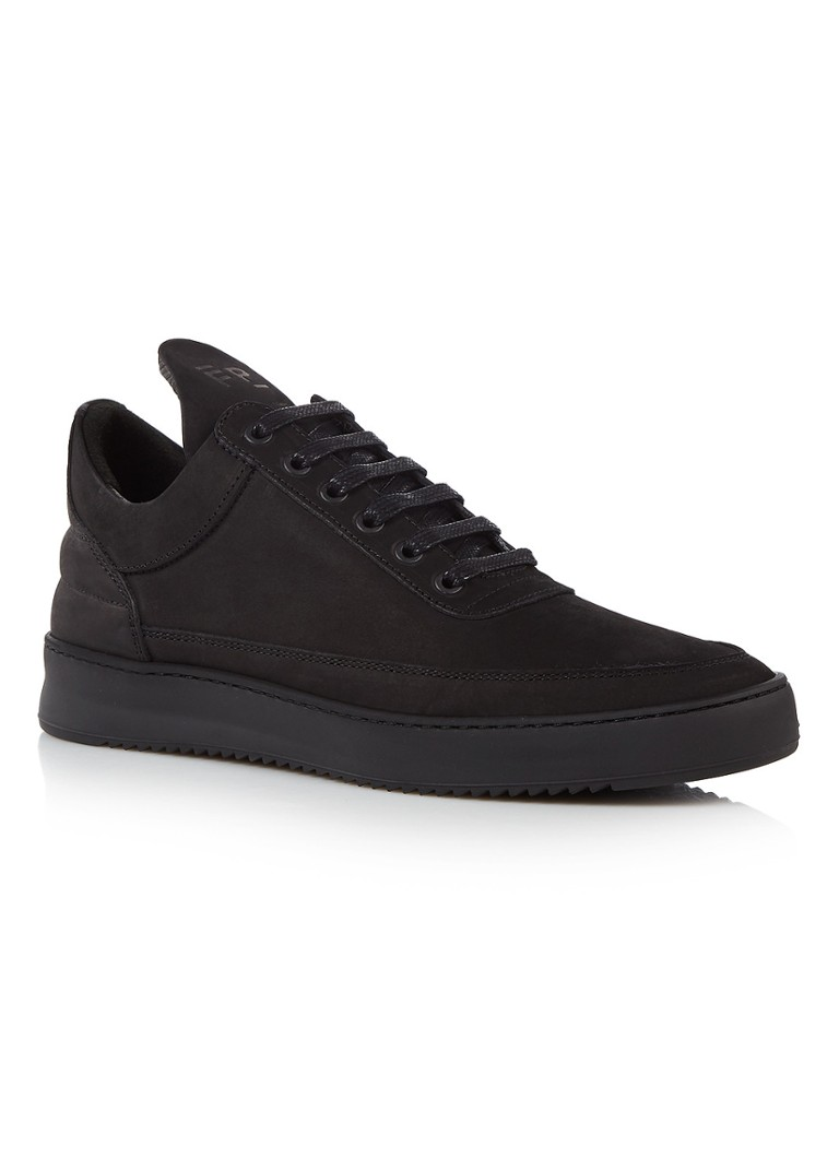 Filling Pieces Low Top Ripple Tonal sneaker van nubuck