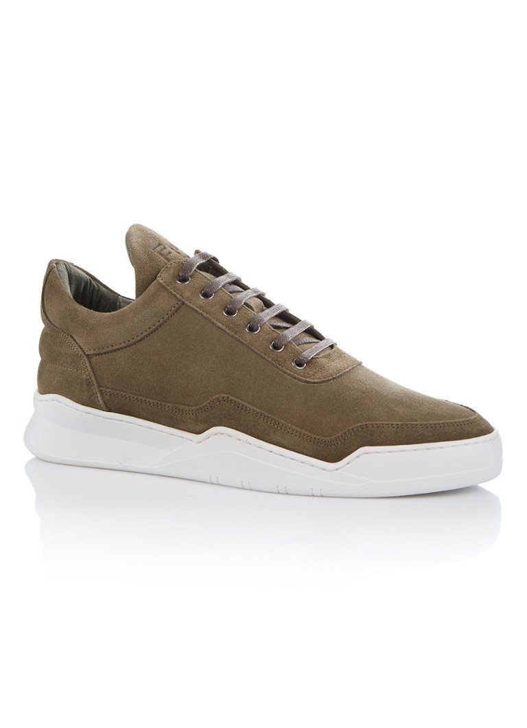 Filling Pieces Low Top Ghost herensneaker groen