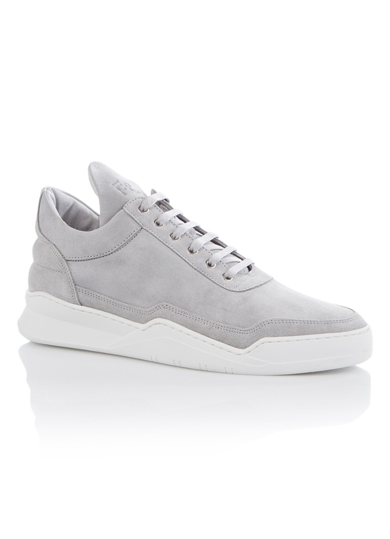 Filling Pieces Low Top Ghost herensneaker grijs