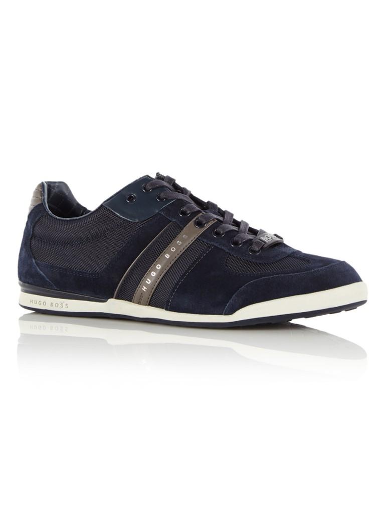 BOSS Green Sneaker Akeen donkerblauw