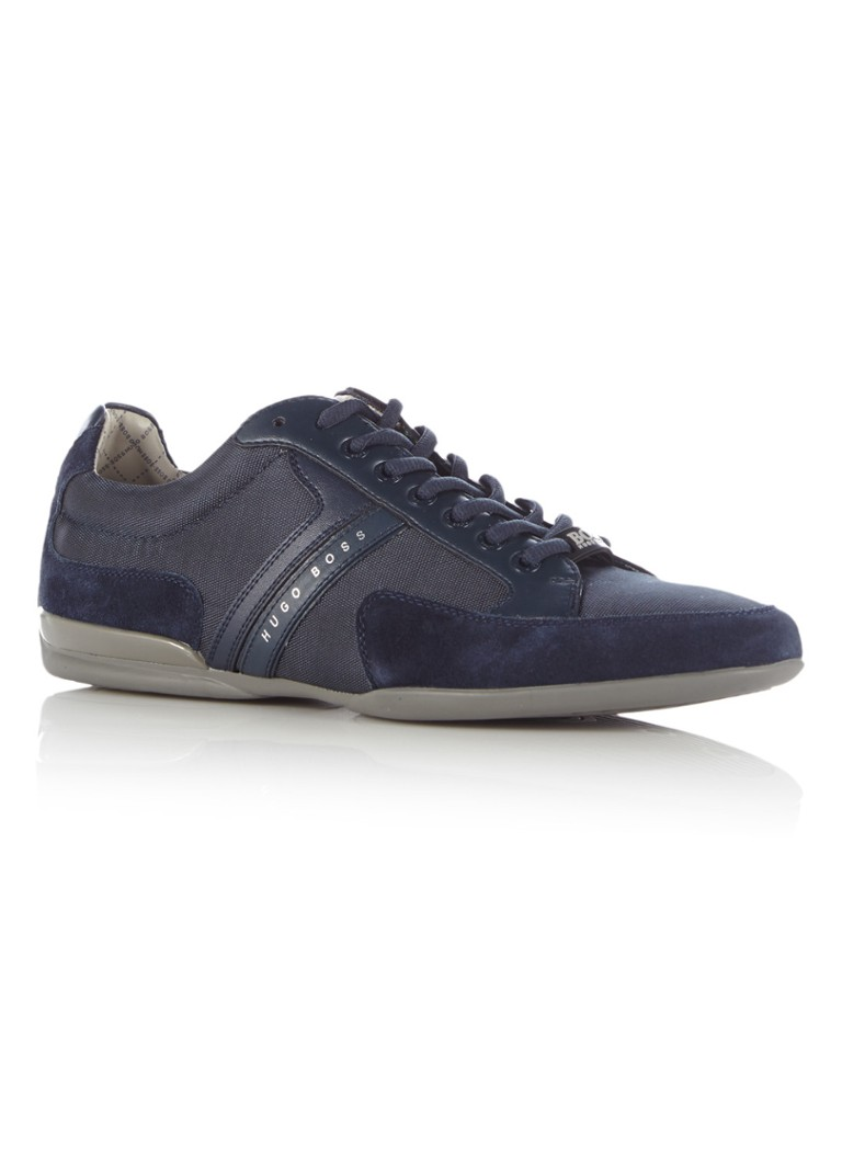 BOSS Green Sneaker Spacit donkerblauw