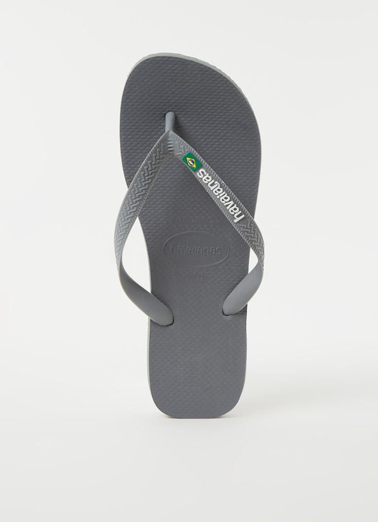 Havaianas Slippers Brasil Logo 4110850.5002.M19 Grijs-39/40 maat 39/40 online kopen