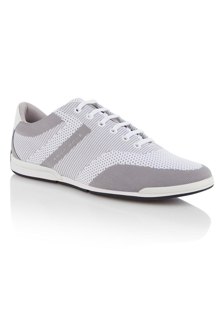 Hugo Boss herensneaker grijs