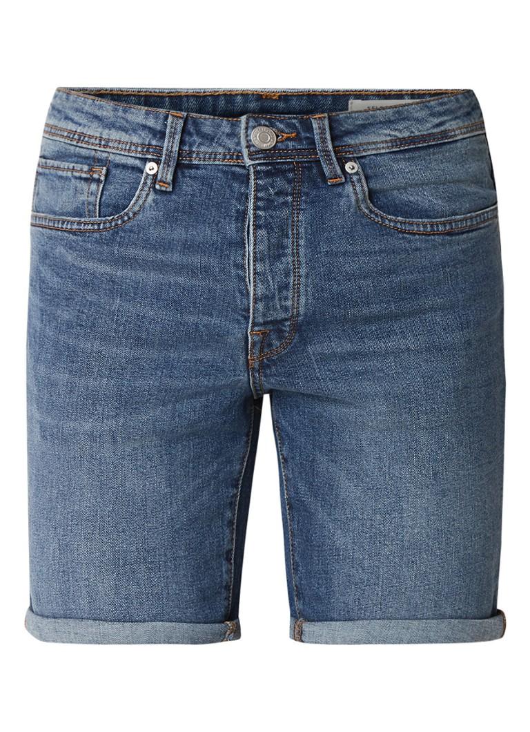 Selected Homme Halex straight fit shorts van denim