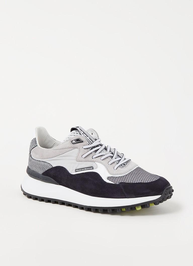Floris van Bommel Sneakers 16339.19 Noppi Suede combi P7078 online kopen