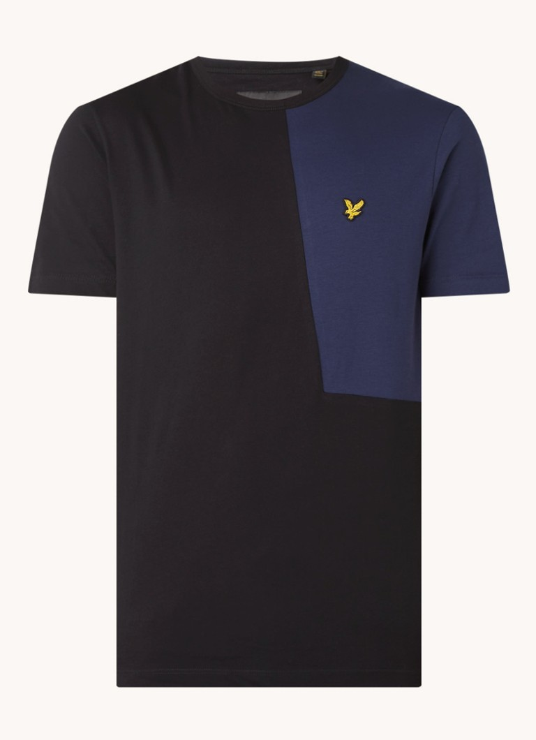 Cut and Sew T shirt met logo