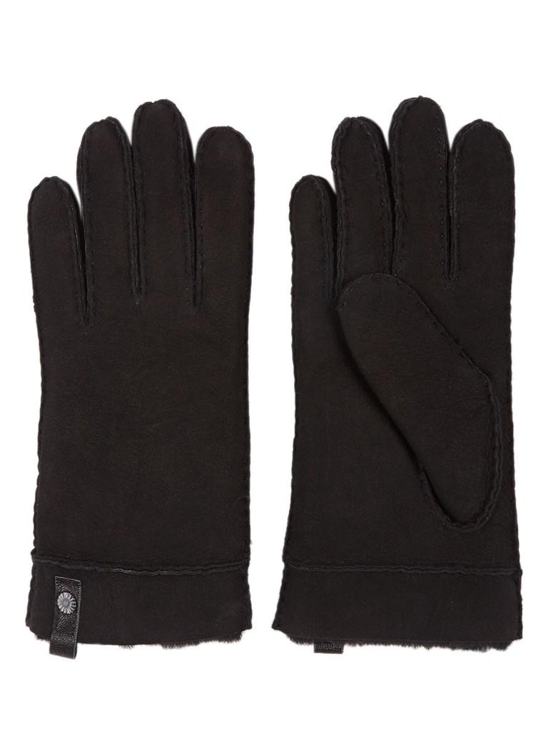 Handschoenen UGG Tenney handschoenen van suede Zwart