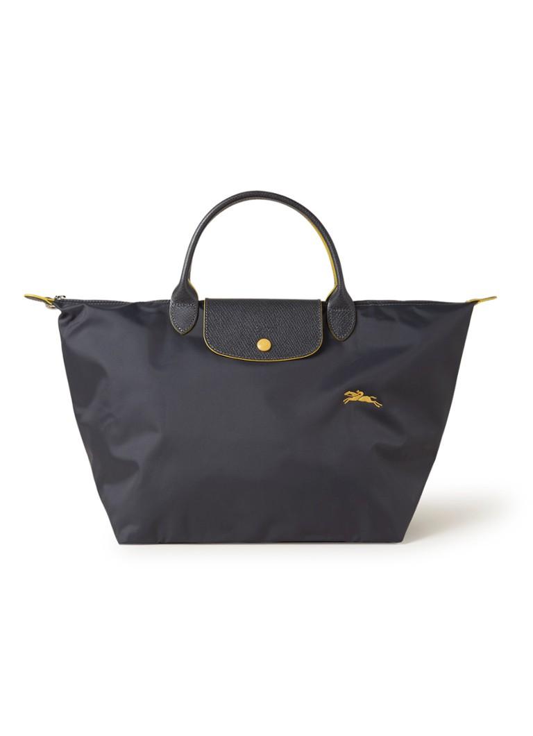 Longchamp Le Pliage handtas met leren details kopen