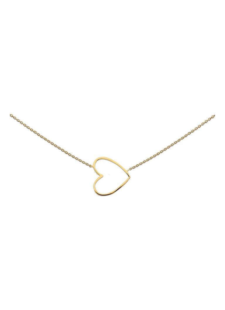Image of Heart to get Goudkleurige ketting met hart
