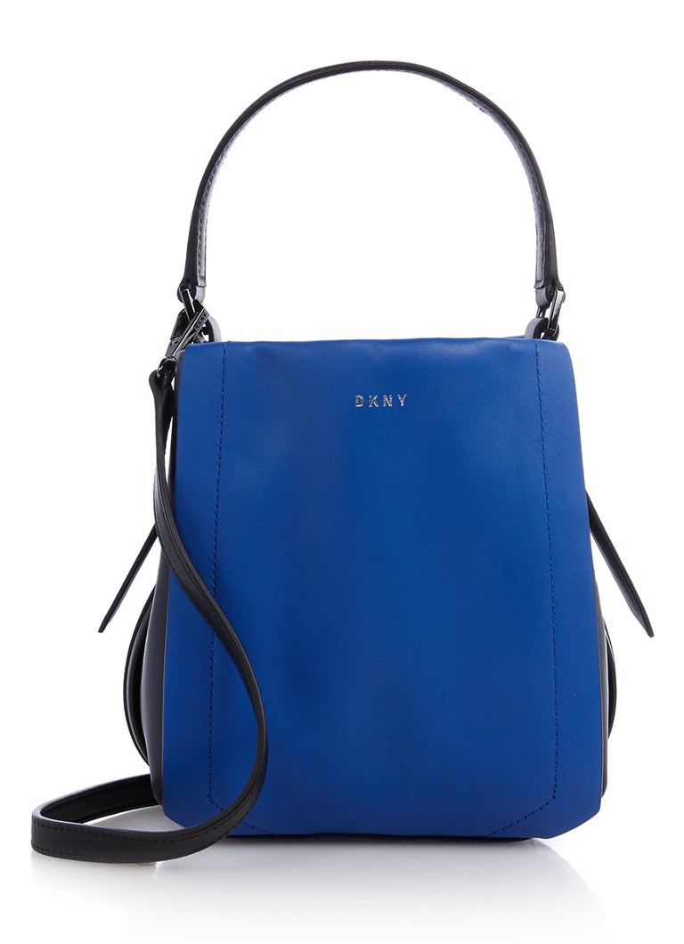 DKNY Greenwich bucket bag van leer