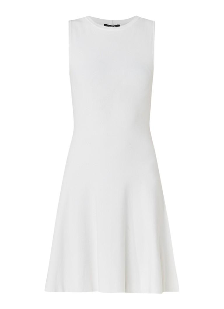 Nikkie Ventura mouwloze A-lijn jurk gebroken wit