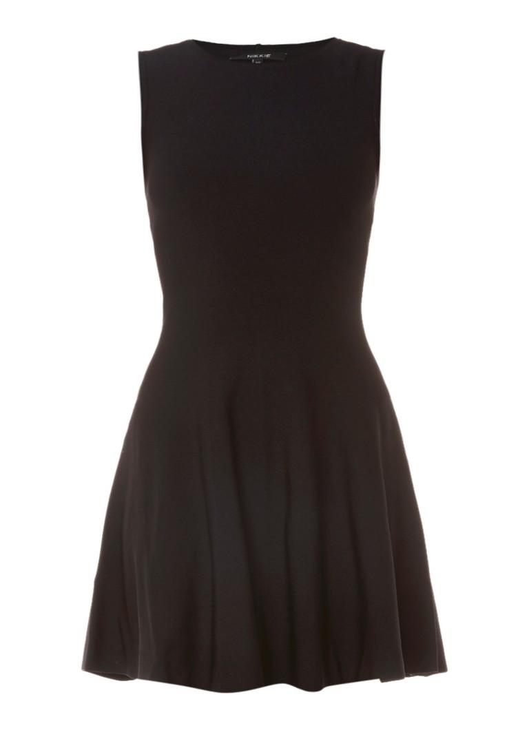 Nikkie Ventura mouwloze A-lijn jurk zwart