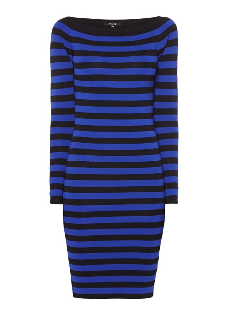Nikkie Jolie fijngebreide jurk met